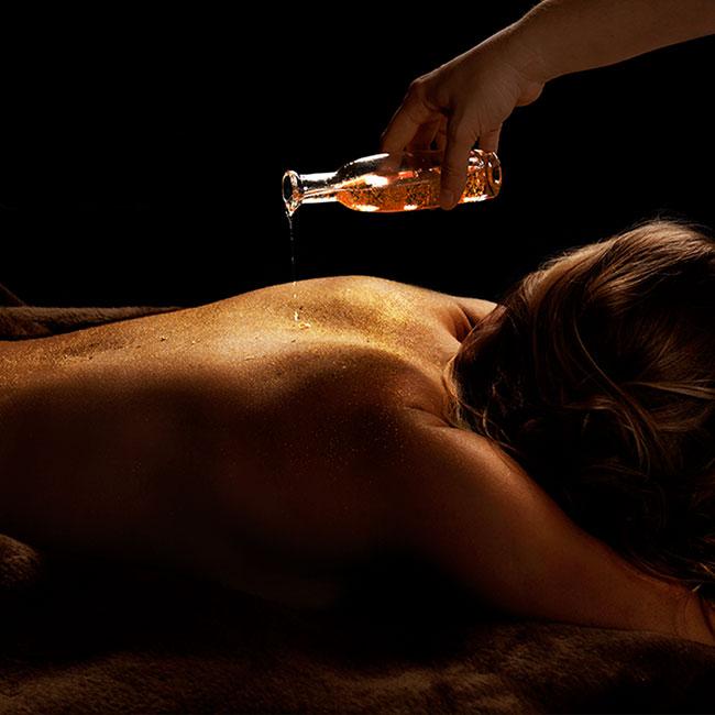 Royal Luxury Gold Öl Massage