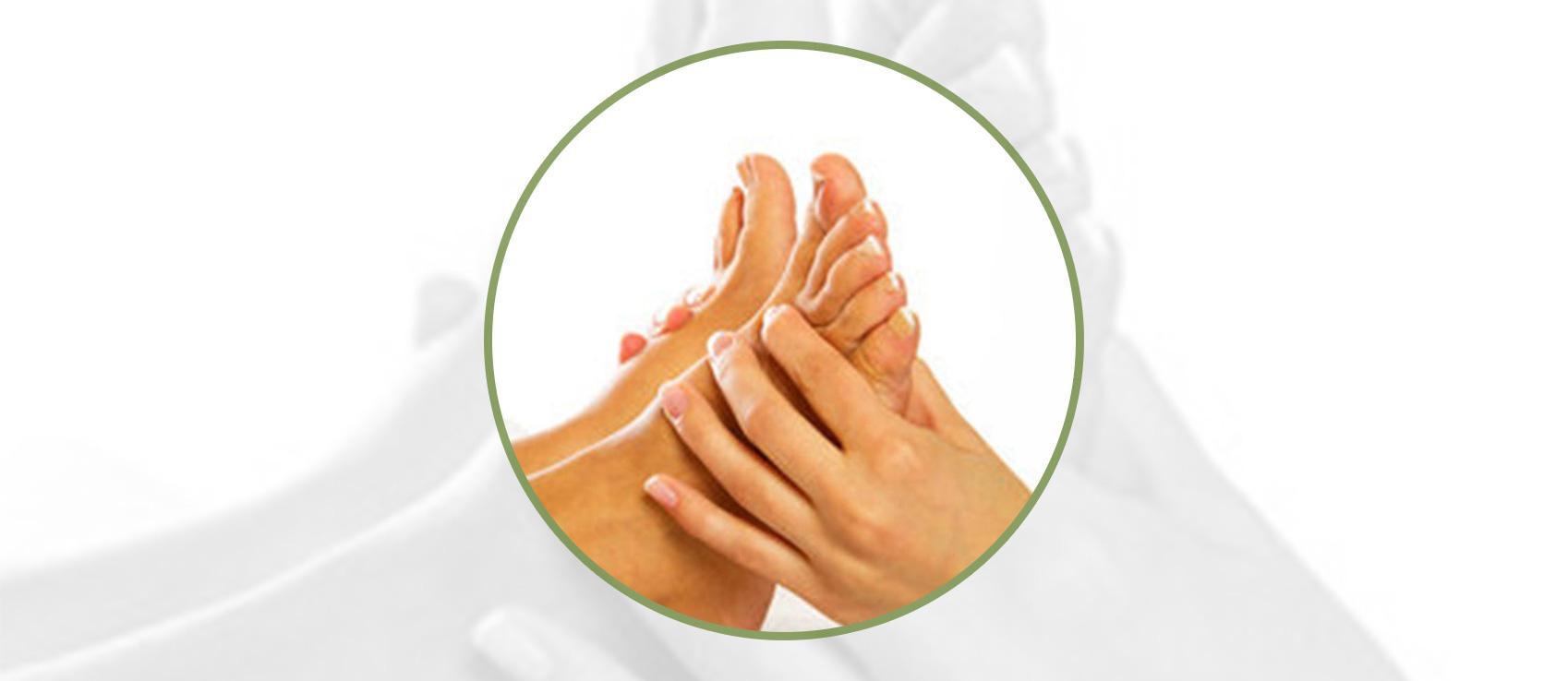 Fußreflexzonentherapie  -Der Fuß als Tor zum Körper – Fußreflexzonentherapie